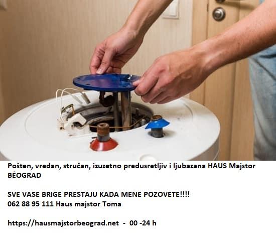 Električni bojler montaža demontaža