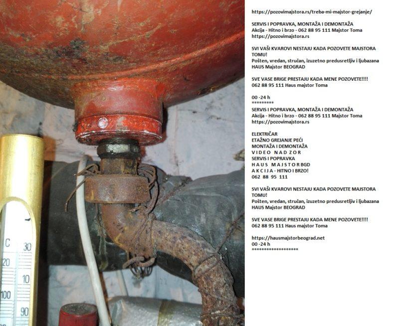 Cena električar grejanje popravka