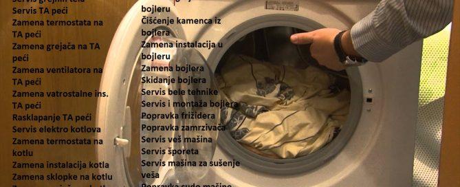 Servis popravka ves masine Miljakovac
