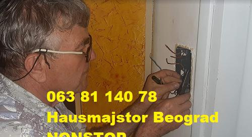 Spoljna rasveta LED paneli Beogradski majstor