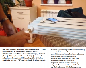Potreban majstor popravka Beograd električar 24h
