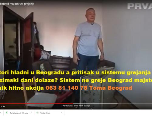 Sistem ne greje Beograd majstor cenovnik