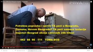 TA peći ugradnja grejača majstori Beograd