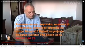 Oglasi za grejanje Beograd majstor 24h akcija cena