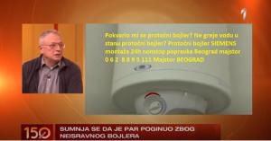 Protočni bojler SIEMENS montaža 24h nonstop popravka Beograd majstor.